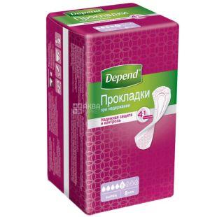 Depend Super Pad Прокладки урологічні, 8шт, м'яка упаковка