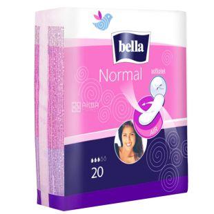 Bella Normal Гігієнічні прокладки, 20шт, м'яка упаковка