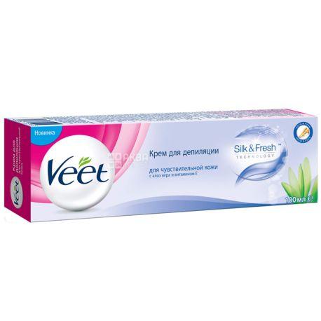 Veet, 100 мл, Крем для депіляції, Для чутливої шкіри