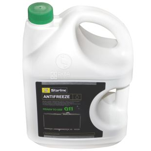 Starline G11 Antifreeze -40C green, 4l, canister