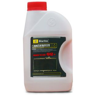Starline G12 + Antifreeze -40C red, 1 l, canister