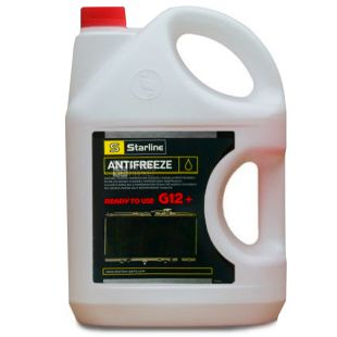 Starline G12 + Antifreeze -40C red, 4 l, canister