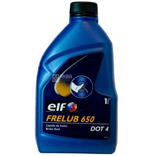 Elf Frelub 650 DOT-4 Гальмівна рідина, 1л, каністра