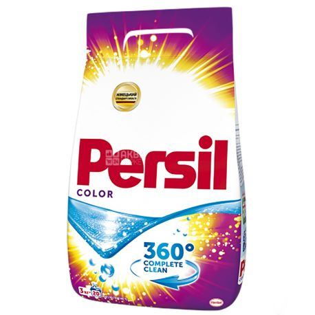 Persil Color, Порошок стиральный автомат, 3 кг, м/у