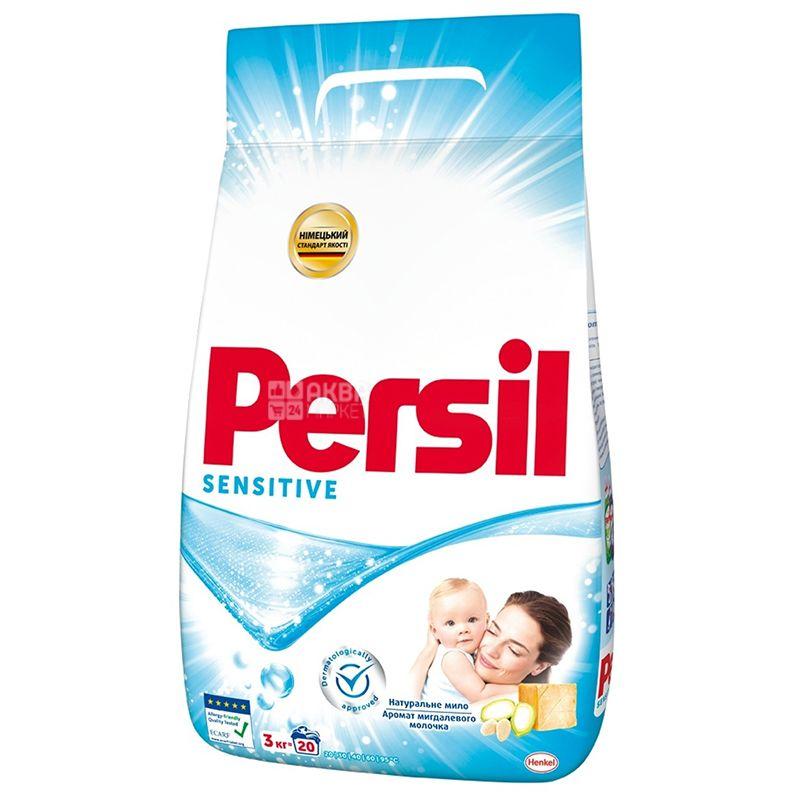 Persil Sensitive, Порошок стиральный автомат для детских вещей, 3 кг, м/у