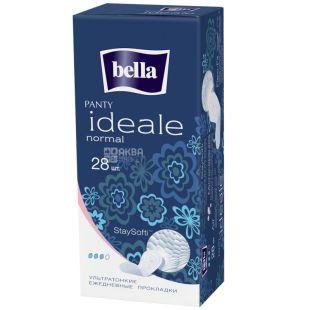 Bella Ideale Normal, Прокладки щоденні ультратонкі, 3 каплі, 28 шт., картон