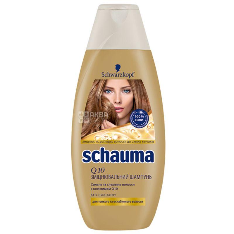 Schauma, 400мл, шампунь, Відновлення Q10