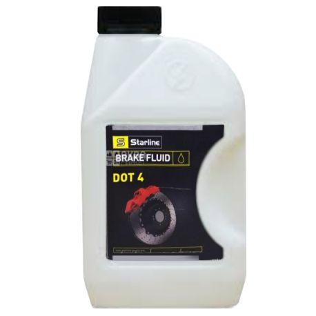 Starline DOT-4 Тормозная жидкость, 1л, канистра