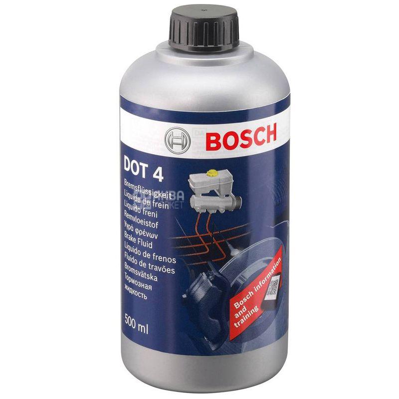 Bosch DOT-4 HP Тормозная жидкость, 0.5л, канистра