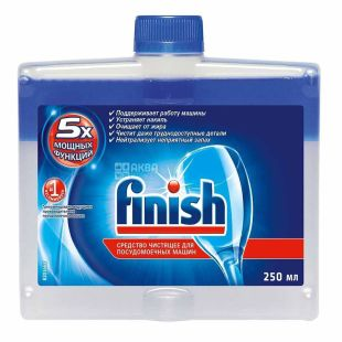 Finish, Cleaner for Dishwashers, 250 ml
