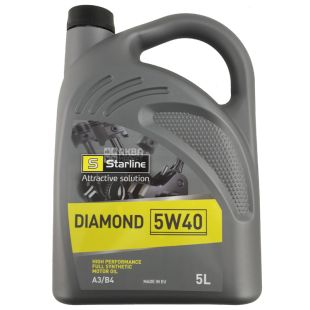 STARLINE Diamond 5W-40 Моторное масло, канистра, 5 л