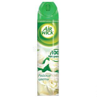 Air Wick, Освежитель воздуха, Аэрозоль, Райские цветы, 240 мл