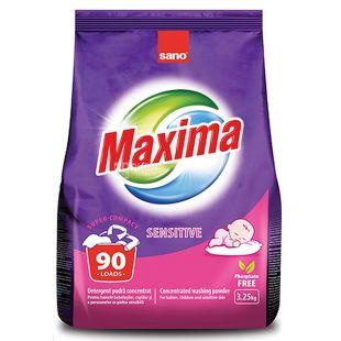 Sano Sensitive Bio, Washing powder for baby clothes automatic, 3.25 kg, m / s