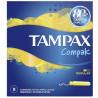 Tampax Compak Regular Single, Тампоны с аппликатором, 2 капли, 8 шт., картон