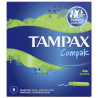 Tampax Compak Super Single, Тампони з аплікатором, 3 каплі, 8 шт., картон
