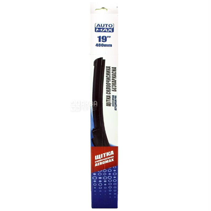 Automax Aeromax Wiper Frameless Wiper, 19 ''