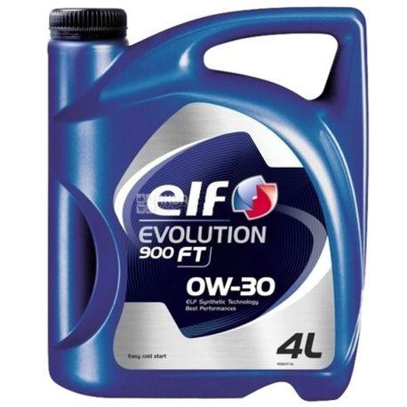 ELF EVOLUTION 900 FT 0W-30 Моторное масло, 4л, канистра