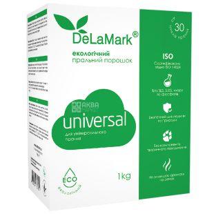 DeLaMark Universal Стиральный порошок экологический, 1 кг, картонная упаковка