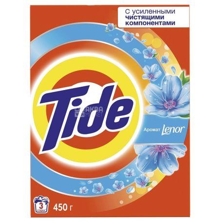 Tide 2в1 Lenor Effect, Порошок стиральный автомат, 450 г, картон