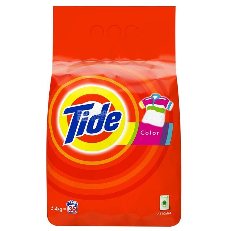 Tide Color, Порошок стиральный автомат, 5,4 кг, м/у