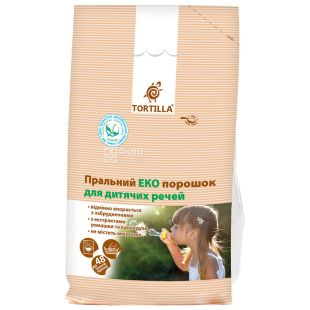Tortilla, Eco washing powder for baby clothes, 2.4 kg, m / s