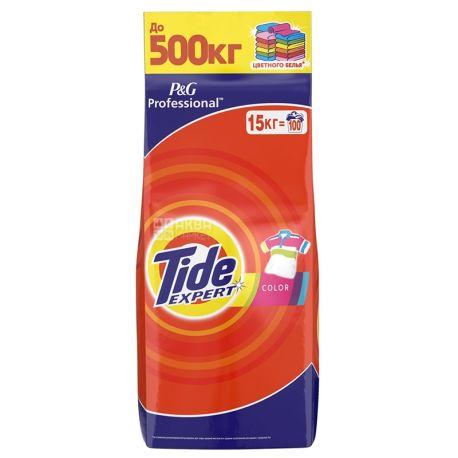 Tide Expert Professional Color, Стиральный порошок, Автомат, 15 кг