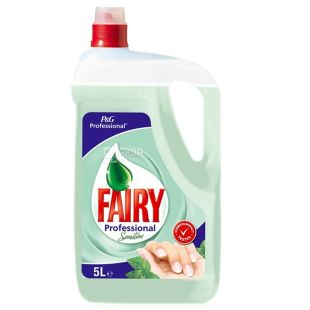 Fairy Professional Sensitive, Dishwashing Liquid, 5 L