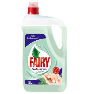 Fairy Professional Sensitive, Средство для мытья посуды, 5 л