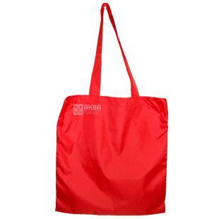 Shopping bag, Cloak fabric, Red