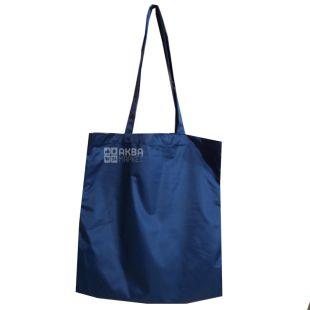 Shopping bag, Cloak fabric, Blue