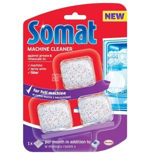 Somat Machine Cleaner, Средство для ухода за посудомоечной машиной, 60 г, картон