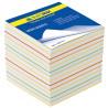 Buromax Радуга, Блок бумаги разноцветной, 90*90*70мм, пленка