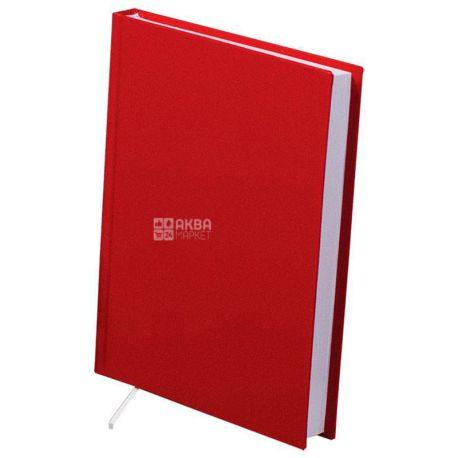 Buromax Strong, 144 листа, Ежедневник недатированный, А5, красный