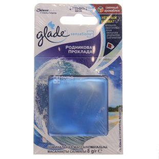 Glade Sensations Джерельна прохолода, Освіжувач повітря, змінний блок, 8 г, картон