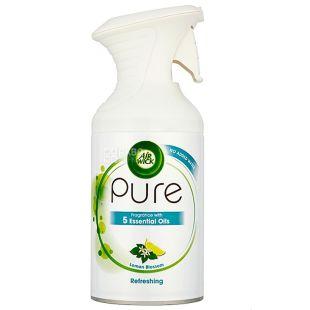 Air Wick Pure Цветущий лимон, Аэрозоль-освежитель, 250 мл