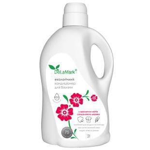 De La Mark, Rinse softener with the fragrance of sandalwood flowers, 2 l