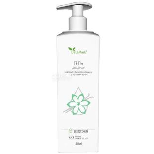 De La Mark, Shower Gel with a Scent of Jasmine Flowers and Hints of Vanilla, 400 ml
