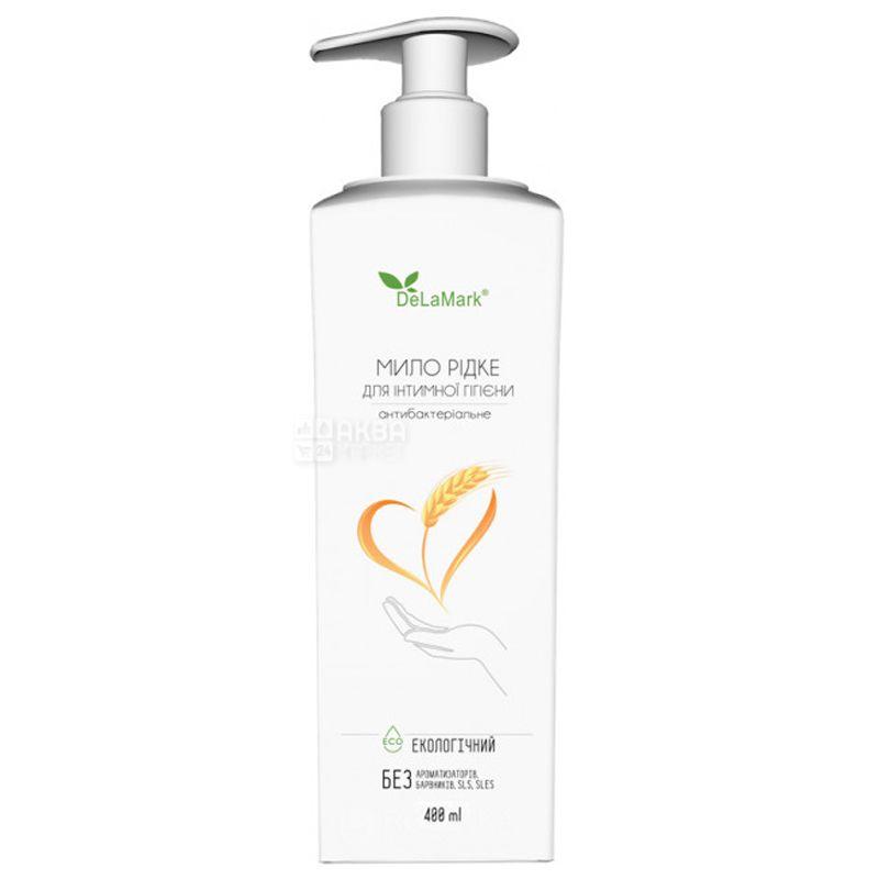 De La Mark, Жидкое мыло для интимной гигиены антибактериальное, 400 мл