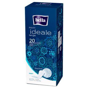 Bella Ideale Large, Прокладки щоденні ультратонкі, 3,5 каплі, 20 шт., картон