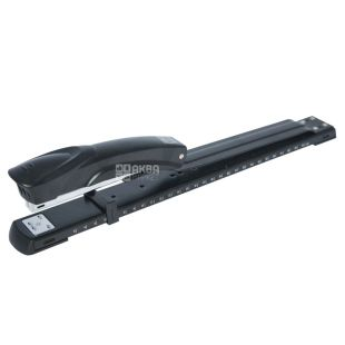 Buromax, The stapler extended on 20 sheets, black, metal, brackets No. 24, 26