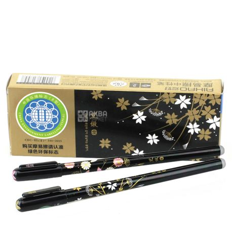 Aihao I write-erase, gel pen blue, pack of 12pcs