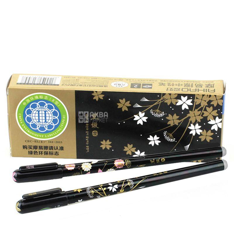 Aihao Пишу-стираю, Ручка гелевая синяя, упаковка 12шт