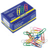 Buromax, Colored round paper clips, 28 mm, 100 pieces