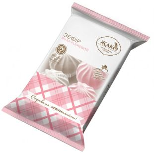 Жако зефір біло-рожевий 350г, м/у