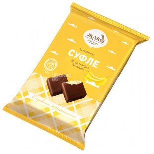 Жако конфеты суфле со вкусом банана 250г, м/у