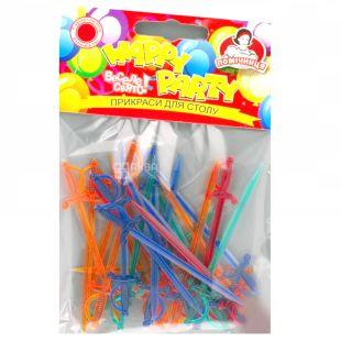 Spaghetti Swords, 25 pcs, TM Assistant