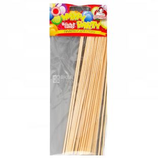 Помощница, Шпажки для шашлыка Бамбук, 20 см, 25 шт.