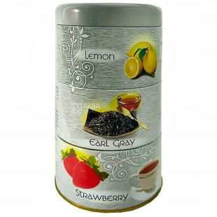 Мері Чай 3 в 1, Ароматизований чорний чай, 120г,  ж/б