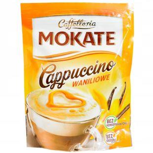 Mokate, Cappuccino Vanilla, 110 г, Мокатэ, Капучино с ароматом ванили, растворимый