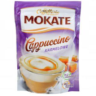 Мokate Сaffetteria Cappuccino Caramel, Капучино, 110г, м'яка упаковка
